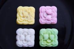 Le dessert thaïlandais au Japon coloré fleurit le style Photo stock