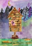 Le dessin des enfants Images libres de droits