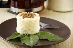 Un gâteau de manioc image stock