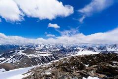 Le dessus de la montagne image libre de droits
