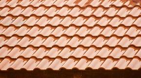 Le dessus de toit en béton élégant d'une maison a isolé la photographie Photo libre de droits
