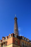 Le dessus de Tour Eiffel Photo libre de droits