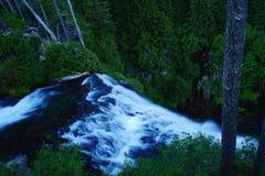 Le dessus des chutes de Narada photos stock