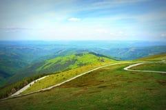 Le dessus des montagnes Photographie stock libre de droits
