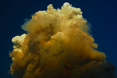 Le dessus des nuages Photographie stock libre de droits