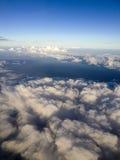 Le dessus du ciel Photo stock