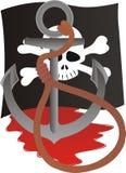 Le destin d'un pirate. Image libre de droits