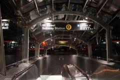 Le deuxième souterrain 52 d'avenue Photos stock