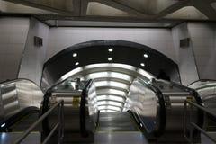 Le deuxième souterrain 60 d'avenue Image stock