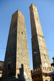 Le Devido Torri, Bolonha, Italy foto de stock