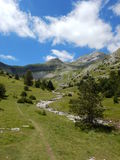 Le Devoluy- Communion with the mountain spirits. Le Devoluy France is an isolated mountain chain at the edge of the inner Alps. The rocks are mainly carbonates Royalty Free Stock Photos
