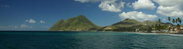 Le Diamant alla Martinica Fotografia Stock Libera da Diritti