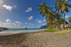 Le Diamant - Martinica FWI fotos de stock