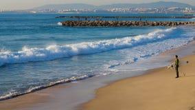 Le dilemme du surfer photo libre de droits