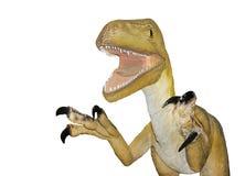 Le dinosaure a disparu dans les brumes du temps Image libre de droits