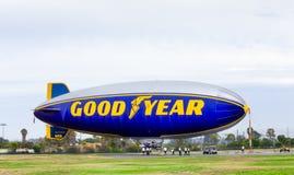 Le dirigeable souple de Goodyear Image libre de droits