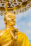 le disciple du statut de Bouddha image stock