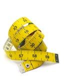 le dispositif a destiné la bande de mesure de mesure de longueur Photos stock