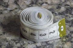 le dispositif a destiné la bande de mesure de mesure de longueur Photo stock