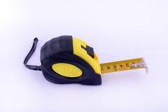 le dispositif a destiné la bande de mesure de mesure de longueur Photographie stock libre de droits
