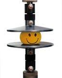 Le dispositif pour le contrôle du compactage des matériaux image libre de droits