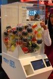 Le distributeur automatique parti de donner Image libre de droits