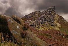 Le district du Staffordshire Peake photo stock