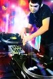 LE DJ Images libres de droits