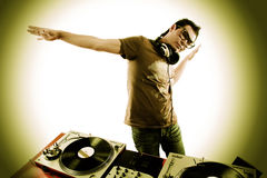 Le DJ Photos libres de droits