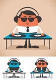 LE DJ illustration stock