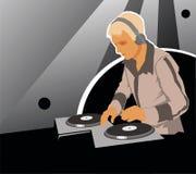 LE DJ Image libre de droits