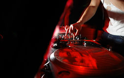 Le DJ Photographie stock libre de droits