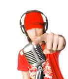 LE DJ Photographie stock