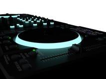Le DJ bloc de commande Photo libre de droits
