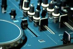 Le DJ bloc de commande image libre de droits