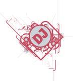 Le DJ CD COUVRENT ou aviateur Photographie stock libre de droits