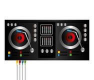 Le DJ conçoivent Images stock