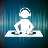 Le DJ conçoivent Photographie stock libre de droits