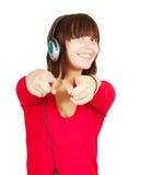 Le DJ de l'adolescence Photos stock