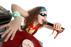 Le DJ frais Images libres de droits