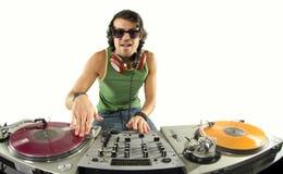 Le DJ frais Photo libre de droits