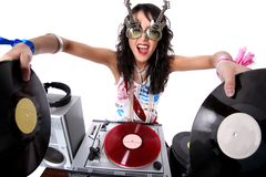 le DJ frais Photo stock