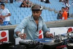 Le DJ français Assad Image libre de droits