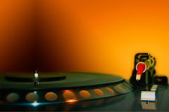 Le DJ - Instruments Images libres de droits