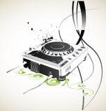 Le DJ lointain Photos libres de droits