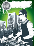 Le DJ moderne illustration stock