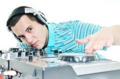 Le DJ party Photos stock