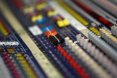Le DJ se mélangent Image libre de droits