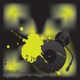 Le DJ turntable_1 Image stock