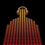 Le DJ virtuel Image stock